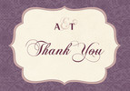 Vintage Plaque Thank You