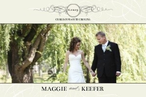 Black and Cream Wedding Flourishes