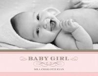 Classic Baby Girl Calendar