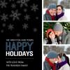 Modern Holiday Photo Strip