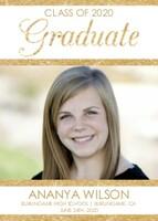 Glittered Graduation