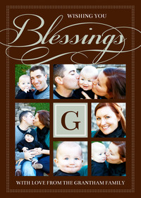 Blessings Monogram