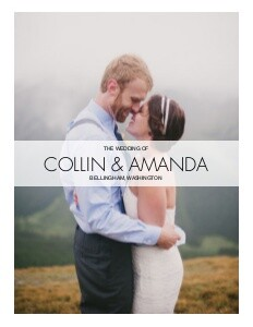 Modern Wedding Photo Book by Mixbook