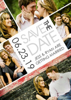 Slanted Save the Date