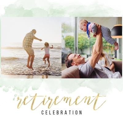 Watercolor Retirement