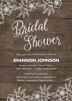Woodsy Bridal Shower