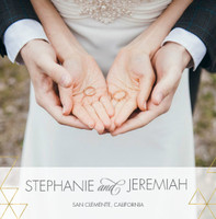 Simple Modern Wedding