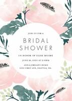 Painted Floral Bridal Shower