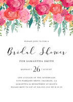 Hand-painted Floral Bridal Shower