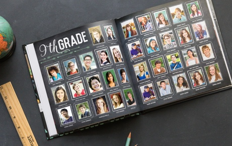 Online Yearbook Design Spreads Custom School Memory Books