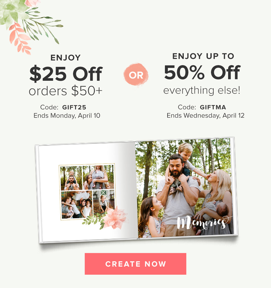 Mixbook: Up to 50% Off Site Wi...