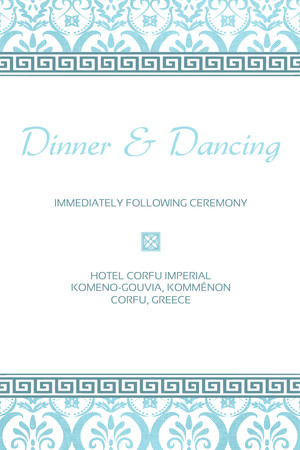 Greek Inspired - Reception
