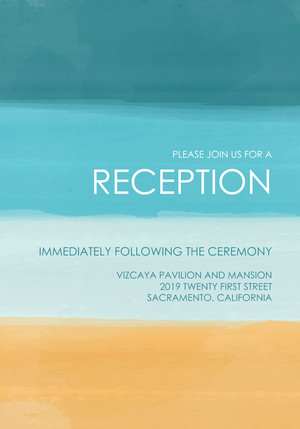 Watercolor Reception