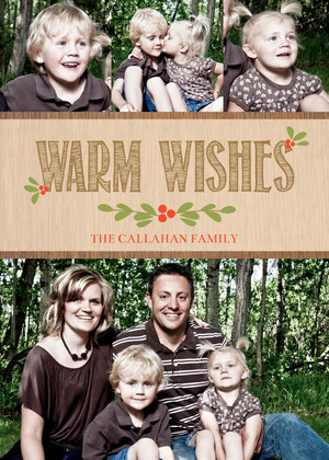 Rustic Warm Wishes