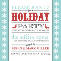 holiday party invitations  corporate holiday party invites  mixbook, Party invitations