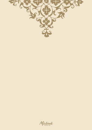 Golden Cream Damask