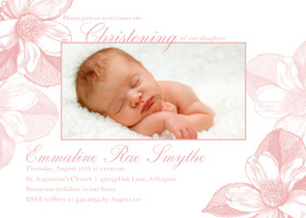 Sweet Floral Christening
