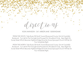 Wedding Direction Card Template   Wedding Tips and Inspiration