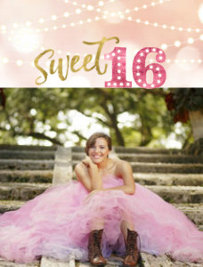 Sweet Sixteen Celebration