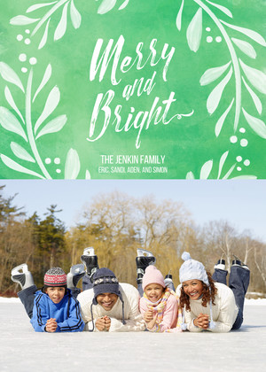 Merry & Bright Watercolor