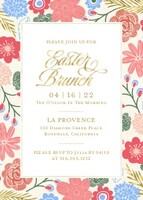 Easter Brunch Floral