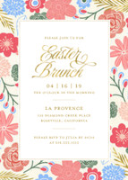Floral Easter Brunch