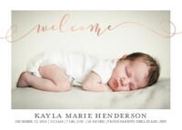 baby girl birth announcement templates personalized cards mixbook