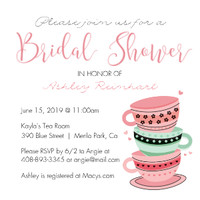 Tea Party Bridal Party