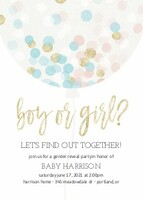 Gender Reveal Balloons