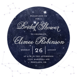 Constellation Bridal Shower