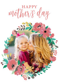 Mother's Day Floral Wreath