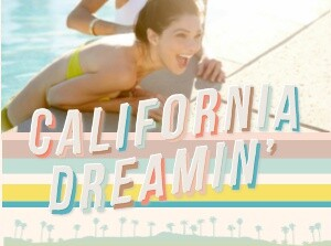 California Dreaming Travel Book by Hello!Lucky