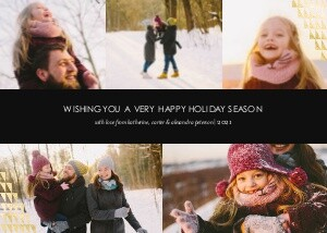 Editable Holiday Greeting
