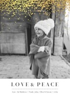 Simple Love & Peace Holiday