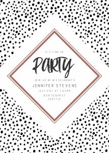 Hand Drawn Dots Party