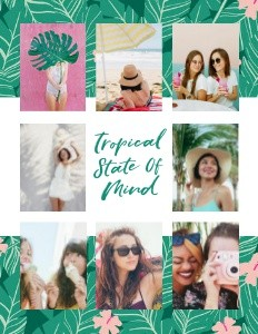 Tropical Travel by Black Lamb Studio