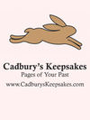 Cadbury's Keepsakes